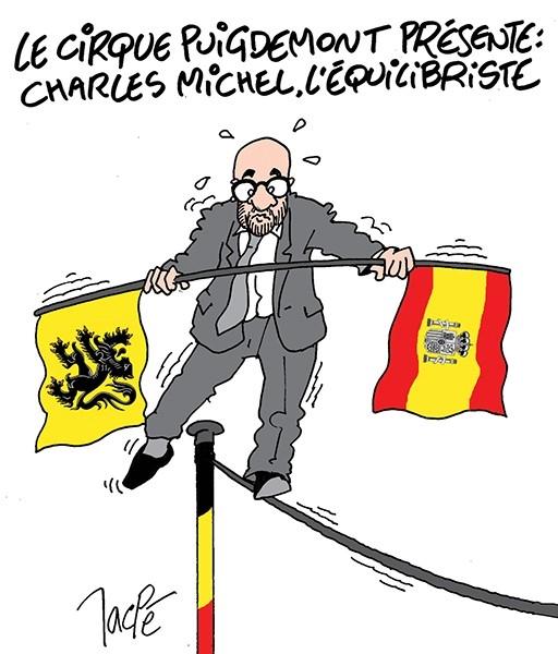 Resultado de imagem para Charles Michel CARTOONS